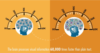 the brain process visual information 60,000 times faster