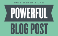 elements of a powerful blog post