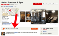 Salon Foushee and Spa Yelp listing