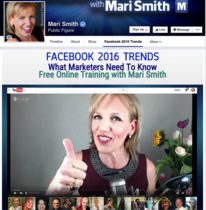 Mari Smith Facebook 2016 Trends page