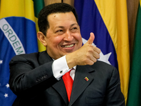 Hugo Chavez Thumbs Up