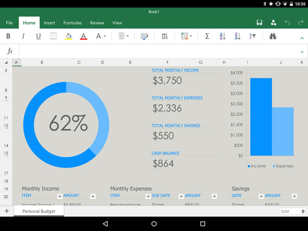 Microsoft Office For Tablets Android Review Is It Good For Business Business News Daily