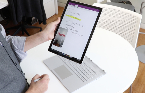 microsoft surface book other user login