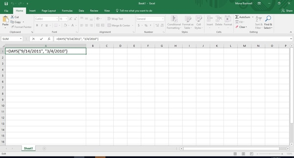 Dates in Excel: How to Calculate Days Between Dates (and More)