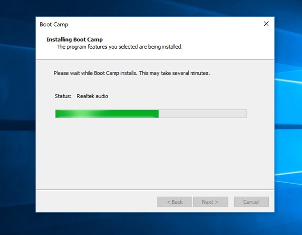 activate windows on bootcamp