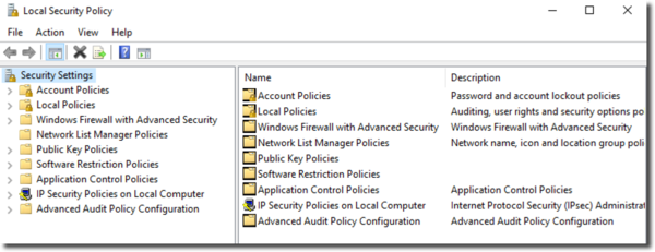 Windows 10 Local Security Policy Editor - How To Use Secpol