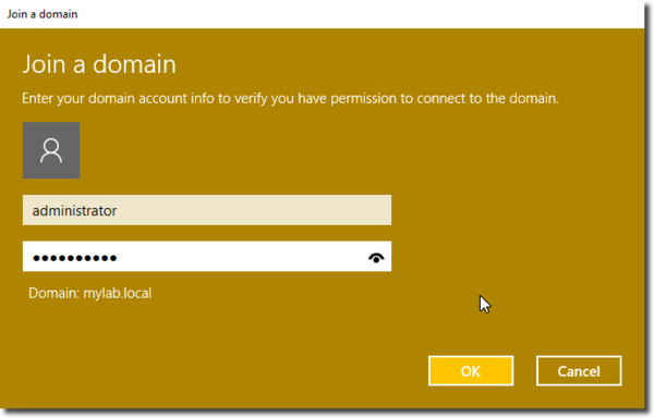 Add Windows 10 To A Domain Using Powershell And Gui