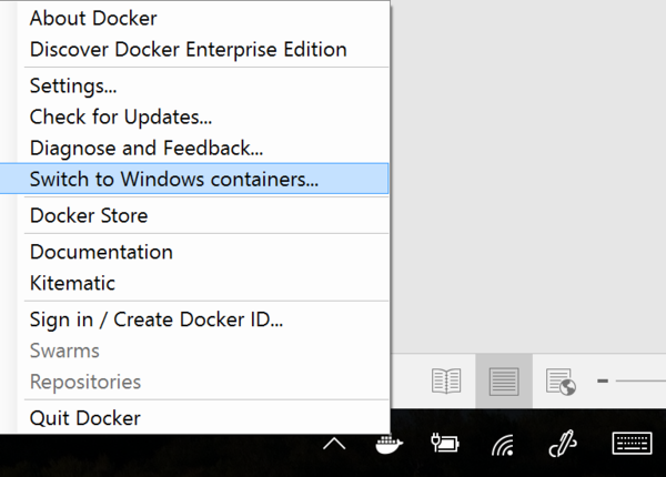Docker on Windows 10 Beginner's Guide