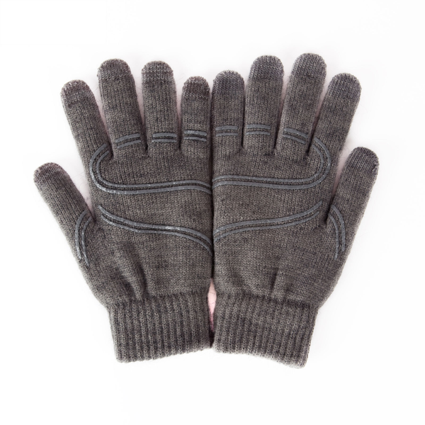 Unisex Knitted Wool Gloves Warm Finger Winter Fit Phone Tablet Touch Screen New