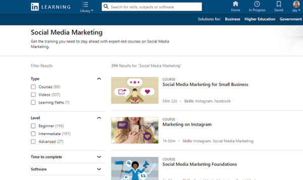 4 Social Media Courses for Marketing Newbies