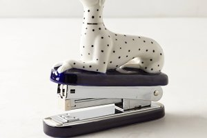 Dalmatian stapler, office decor