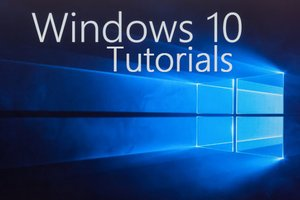 Windows 10 Tutorials