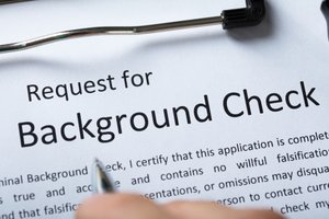 Handling incorrect background checks