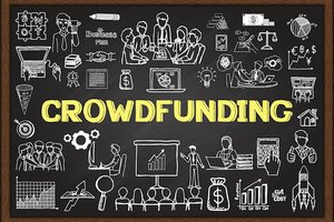 Crowdfunding chalkboard ideas