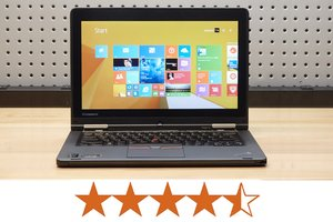 image for The ThinkPad Yoga 12 earns 4.5 out of 5 stars. / Credit: Jeremy Lips