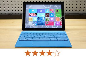 image for The Surface 3 earns 4 out of 5 stars. / Credit: Jeremy Lips