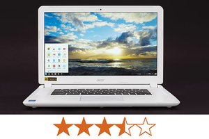 image for The Acer Chromebook 15 earns 3.5 out of 5 stars. / Credit: Jeremy Lips