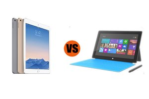 iPad Air 2 vs. Surface Pro 3, tablets for business
