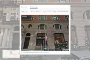 Businesses Can Now Add Google 'Street View' to Websites