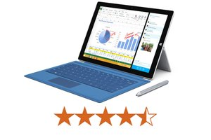 image for The Surface Pro 3 earns 4.5 out of 5 stars. / Credit: Microsoft