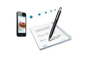 image for Digital notes can be backed up and duplicated more easily than paper notes. / Credit: Livescribe