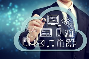 image for Cloud computing trends for 2014 and beyond. / Credit: Cloud image via Shutterstock