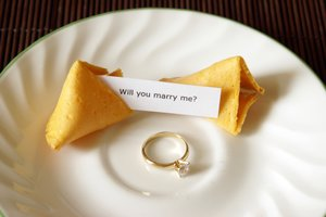 fortune cookies, romance