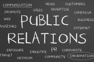 public relations, sports-related careers
