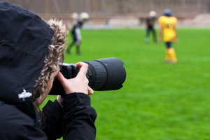 Sports photographer, sports-related careers