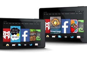 amazon, kindle fire, tablets
