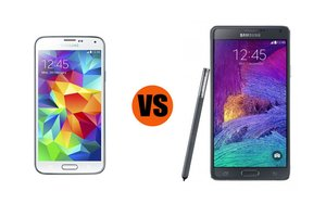 galaxy s5, galaxy note 4, phablets