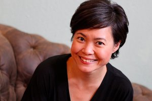 Aihui Ong,founder and CEO of Love with Food, networking