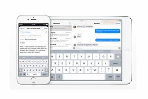 iPhone and iPad keyboards - iOS 8