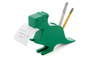 dinosaur desk organizer, secret santa gifts, co-worker gifts