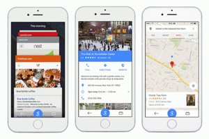 Google for iOS Gets Material Design Revamp and Maps Integration