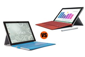 Microsoft Surface 3 vs. Surface Pro 3