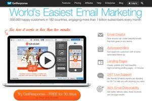 Best Low-Cost Email Marketing Service: GetResponse Review