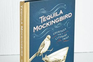 'Tequila Mockingbird' recipe book, secret santa gift
