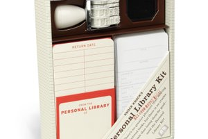 Personal library kit ($16)
