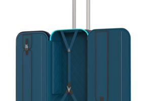 Robot suitcase, business travel technology