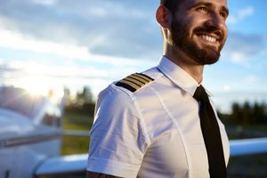 Airline and commercial pilot