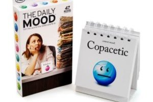 Fred The Daily Mood Desk Flipchart ($18.85)