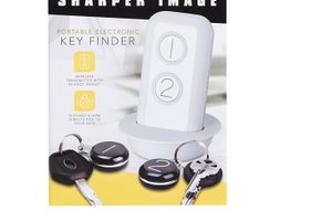 Sharper Image portable electronic key finder