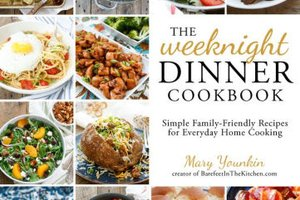 The Weeknight Dinner Cookbook by Mary Younkin