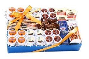 The Gift Basket Gallery Deluxe K-Cup Coffee Sampler Gift Basket