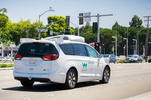 Google's Waymo self-driving car protoype