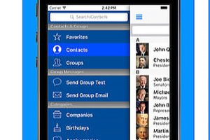 A2Z Contacts app