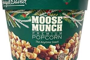 Harry & David Moose Munch popcorn