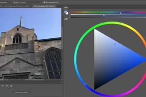 Photoshop CC Color wheel