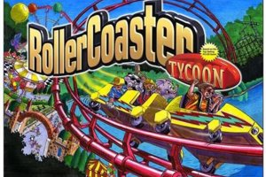 Roller Coaster Tycoon sim game